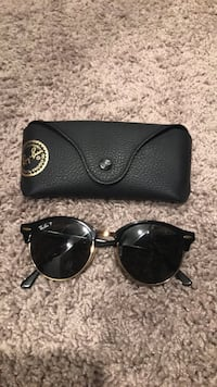 black framed Ray-Ban sunglasses with case Orlando, 32821