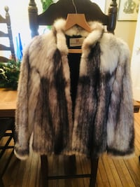 """Vintage Hudson's Bay Fur Coat, Excellent Condition! There is a """"Law"""" Monogram on the inside of the jacket. Gorgeous Jacket! Size small, Extremely warm jacket! Ottawa, K2K 1X7"""