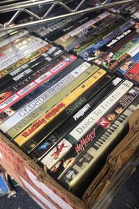 DVD Movies $1 each Hundreds to choose from $5 for 6 and $20 for 25