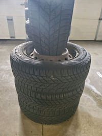 4 snow tires with rims Mississauga, L5S 1L9