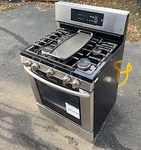 """LG Gas Stove 30"""" Stainless Steel"""