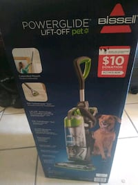 BISSELL PowerGlide Lift-Off Pet Upright Vacuum Cleaner, 2043W