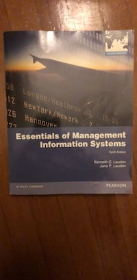 Essentials of Management Information Systems SF, 94108