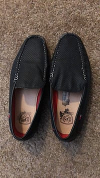 pair of black leather loafers Albuquerque, 87120