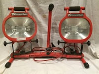 Commercial Electric work lights: 300W x4 bulbs-very bright Los Angeles, 91411