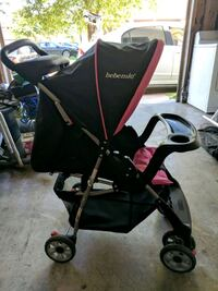 baby's black and red stroller Salinas, 93906