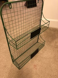 black metal folding dog crate Greenbelt, 20770