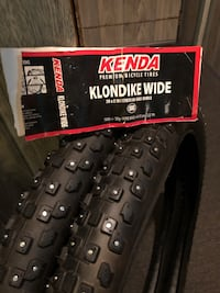 "26"" studded tires (never used)"