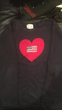Quacker Factory 3X, navy pullover sweater