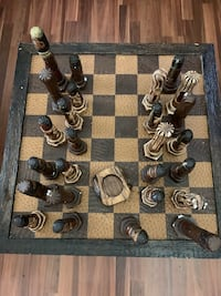 Chess lovers! Decorators! AMAZING ONE OF A KIND PIECE!!