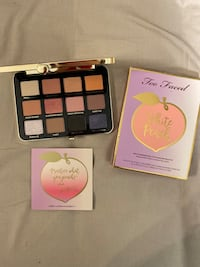 Two faced White Peach brand new palette Toronto, M2M