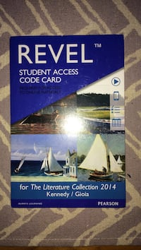 revel student access code card - 2014 literature collection  Kennedy / Gioia  Cache, 73527