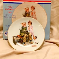 Norman Rockwell Vintage Plate Williamstown, 08094