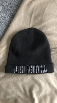 svart Lates Fashion Girl knit cap Lund, 223 53
