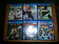 PS4 Games 5.00 each