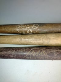 three brown baseball bats Amelia, 45102