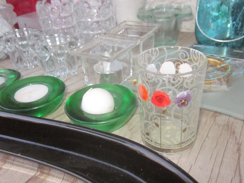 Lot of 27 Candle and Tealight Candle Holders   9d193288-a2be-41e9-8472-145216aaf174