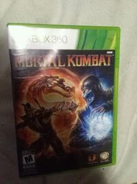 Xbox 360 Mortal Kombat game case Abbotsford, V2T 5E2