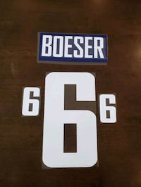 Brock Boeser name and number kit Port Moody, V3H 5B3