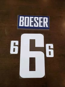 Brock Boeser name and number kit