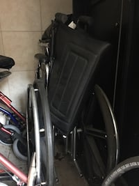 Red and black rollator walker  never use , small size, I have another for big person, all new never use New York, 11374