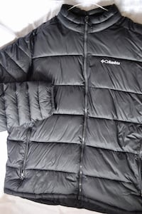 Black Columbia Zip-up Puffy Bubble jacket  Burnaby, V5G