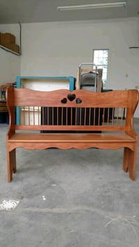 Deacon bench (homemade) light stain 85 km