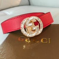 red and silver Gucci belt Bethesda, 20816