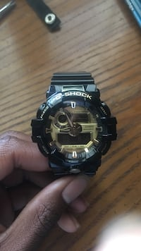 Brand New Black&Gold Gshock watch Arlington, 38002