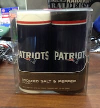 Patriots Salt And Pepper shakers
