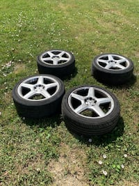 Mercedes Amg rims with summer tires Toronto