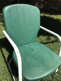 Vintage retro  metal patio chair North Las Vegas, 89085