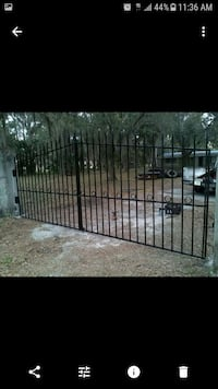 black metal gate Tampa, 33634