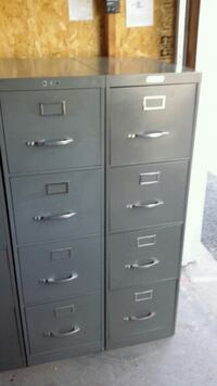 Three  4-drawer filing cabinets Apple Valley, 55124