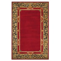 Churchill Red 3 ft. x 5 ft. Area Rug Maryland
