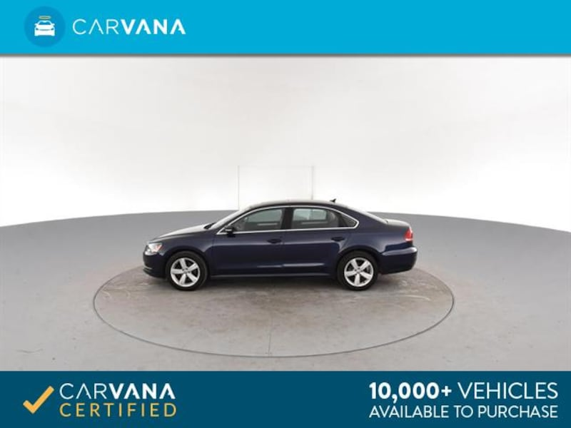 2013 VW Volkswagen Passat sedan TDI SE Sedan 4D Blue <br /> 7