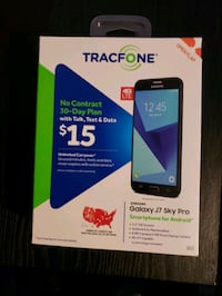 Tracfone Samsung Galaxy J7 Sky Pro with minutes Homestead, 15120