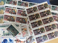 Stamp collection  Milwaukee, 53212