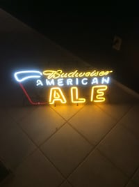 budweiser american ale neon light signage Palm Harbor, 34684