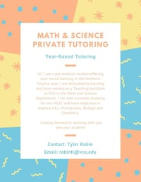 Year-Round Math & Science Private Tutoring Gainesville