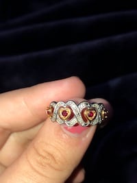 14k gold diamond and ruby ring Adelphi, 20783