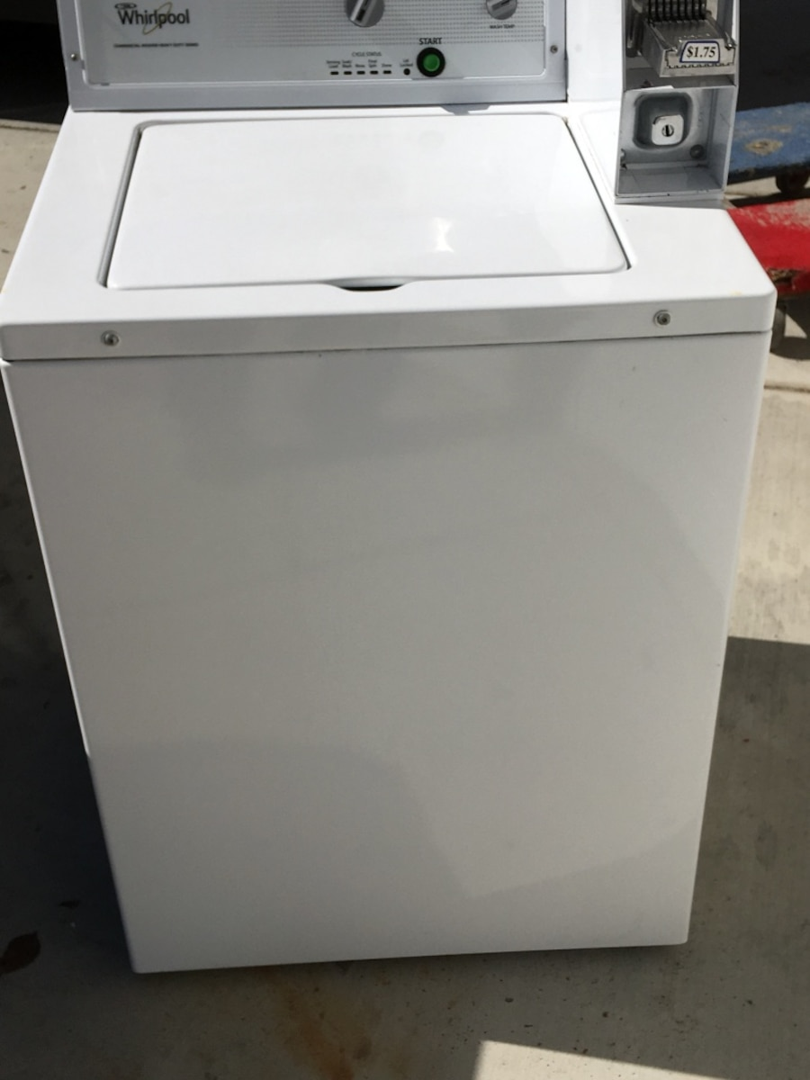 Whirlpool Coin Operated Washer Instruction