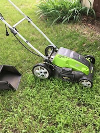 GreenWorks 13A electric lawn mower