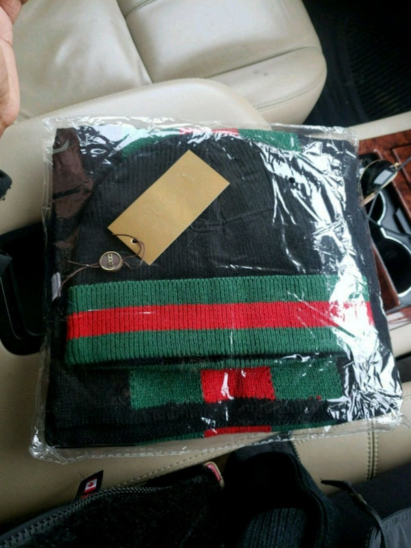 black and green leather bag