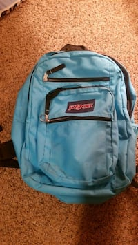 JANSport  BackPack Turquoise no rips,stains. Fresno, 93722