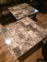 Marble end tables Silver Spring, 20906