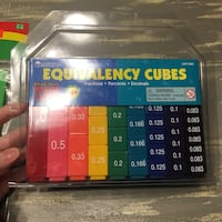 Equivalency Cubes (Great for Teaching) 7 km