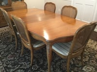 Thomasville Dining Table & 6 Chairs