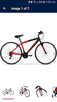red and black road bike Capitol Heights, 20743
