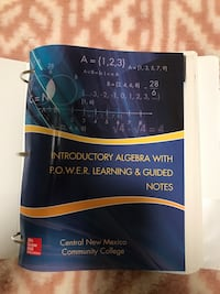 Introductory algebra with POWER learning & guided notes